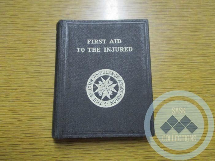 """""""First Aid to the Injured"""" Book"""
